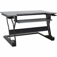 desk height adjustable mobile computer standing for contemporary
