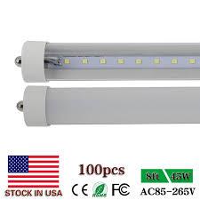 cnsunway lighting single pin 8ft led lights t8 fa8 45w 2400mm