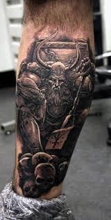 Best 25 Viking Warrior Tattoos Ideas On Pinterest