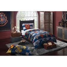 harry potter rugby pride 4 piece twin bed in a bag bedding set