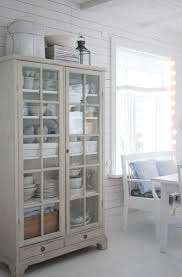 Shabby Chic Dining Room Hutch by Dining Room White Grey Black Chippy Shabby Chic Whitewashed
