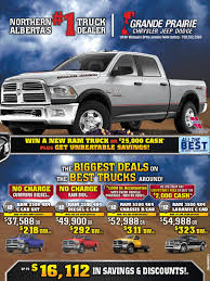 Grande Prairie Dodge Chrysler Jeep Ram | Vehicles For Sale In Grande ... New Chevrolet Lease Deals In Metro Detroit Buff Whelan Augusts Best Fullsize Truck Fancing And Write Cheap Trailer Find Deals On Line At The Trucks Of 2018 Digital Trends 25 Cars Under 500 Gear Patrol Here Are The 13 Best Usedcar For Trucks Suvs San Drive Pickup Car Leasing Concierge 20 Models Guide 30 And Coming Soon Moving Rentals Budget Rental Canada Car July 2017 Leasecosts Get Dealspurchase Affordable Trailers Portland Toyota Our Price Tacoma Tundra Heavy Duty