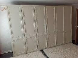 schlafzimmer hülsta komplett retro massivholz top zustand