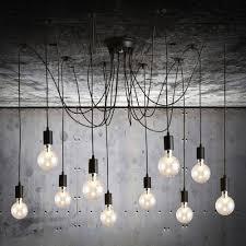 chandelier edison style chandelier antique bulbs edison