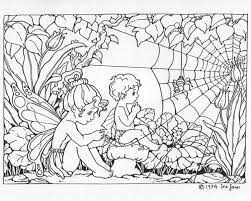 Printable Fairy Coloring Pages Adults