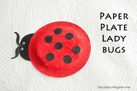 Ladybug Paper Plate