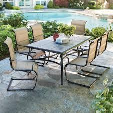 Hampton Bay Patio Umbrella Stand by Outdoor Patio Dining Set Backyard Aac30e283925 1000 Hampton Bay