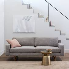 West Elm Rochester Sofa by Eddy Sofa 82 U0026quot West Elm Sofas And Living Rooms
