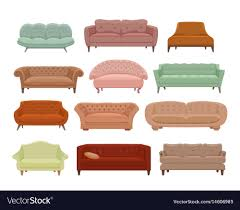 100 Couches Images Sofa And Couches Colorful Cartoon Royalty Free Vector Image