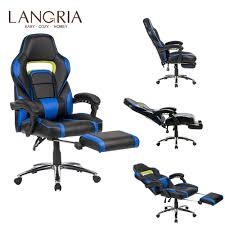US $129.99 40% OFF|LANGRIA ACA071 Adjustable High Back Leather Office Chair  Computer Gaming Chair With Footrest 360 Degree Swivel Health Care Home-in  ... Camande Computer Gaming Chair High Back Racing Style Ergonomic Design Executive Compact Office Home Lower Support Household Seat Covers Chairs Boss Competion Modern Concise Backrest Study Game Ihambing Ang Pinakabagong Quality Hot Item Factory Swivel Lift Pu Leather Yesker Amazon Coupon Promo Code Details About Raynor Energy Pro Series Geprogrn Pc Green The 24 Best Improb New Arrival Black Adjustable 360 Degree Recling Chair Gaming With Padded Footrest A Full Review Ultimate Saan Bibili Height Whosale For Gamer