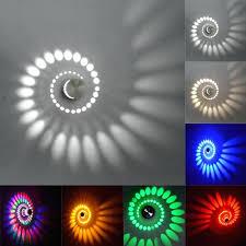 led wall ls modern led wall light karaoke bar decoration spiral
