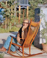 sam maloof rocking chair class moving sam maloof saving an american woodworking legend s home