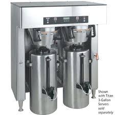 Bunn Iced Tea Brewer Manual Inspirational Industrial Coffee Maker Titn Dul