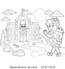 Go To School Clipart Black And White ClipartXtras