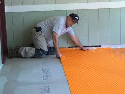Preparing Osb Subfloor For Tile by Wood Porch With A Tile Deck Professional Deck Builder Outdoor