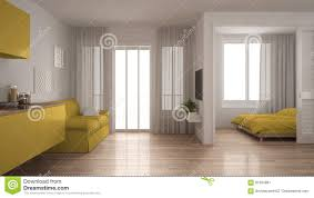 100 Small Apartments Interior Design Apartment With Kitchen Living Room And Bedroom White And
