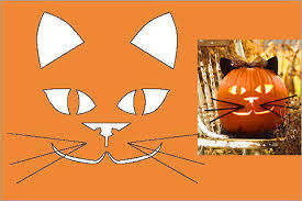 Cute Carved Pumpkins Faces by 28 Halloween Cat Pumpkin Stencils For A Spooky Halloween Band Of