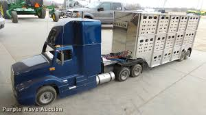 Miniature Semi Truck And Cattle Pot Trailer | Item DC2435 | ... Go Cart Semi Truck Youtube Bangshiftcom Brutha Of A Cellah Dwellah Bangshift Kart Project Build Shriner Karts 1966 Ford 850 Super Duty Dump Truck My Pictures Pinterest Trailer Fiberglass Body Coleman Powersports 196cc65hp Kt196 Gas Powered Offroad Best Gokart Racing F1 Race Factory Sportsandcreation And Fire Kenworth Freightliner Mack 150cc 34 Mini Hot Rod Semiauto Classic Vw Beetle For Adult Kids Coga Battles Corvette And The Results Will Surprise You Pictures Pickup 1956 F100 Pedal Cars Bikes Pgp Motsports Park