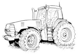 Coloriage De Tracteur à Imprimer Coloriage De 5137