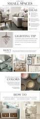 Pottery Barn Living Room Ideas Pinterest by Small Spaces Inspiration U0026 How To Decorate Small Spaces Pottery