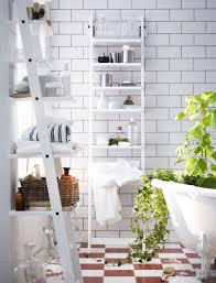 Bathroom Ladder Shelves Bathroom Ladder Towel Rack Ikea Vanity