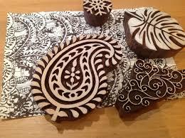 Paper Craft Jewellery Making Block Printing