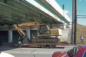 100 Truck Hits Overpass Driver Arrested In Excavator Accident News Within