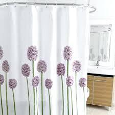 Dark Purple Ruffle Curtains by Beach Themed Bathroom Accessories Shower Curtains Peach Shower