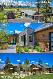 100 Modern Dogtrot House Plans Plan 54228HU Ultra Farmhouse With Dog Run Jojos