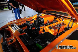 Fastback Mustang Engines for Fastback Mustang at SEMA 2010