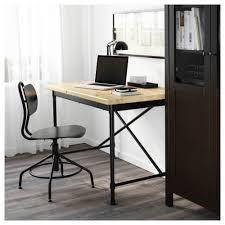 kullaberg desk pine black 110x70 cm ikea