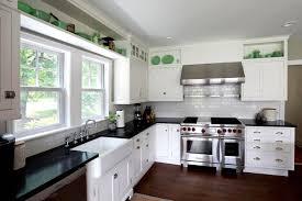 Cream Kitchen Cabinets With Granite Countertops Off White Kitchen