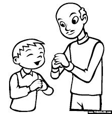 Chinese New Year Visit Coloring Page