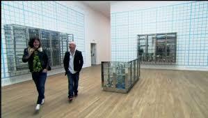 damien hirst retrospective show tate modern room grid
