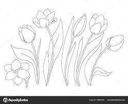 Coloriage De Coeur Pour Maman Neuf Tulipe Coloriage Génial Coloriage