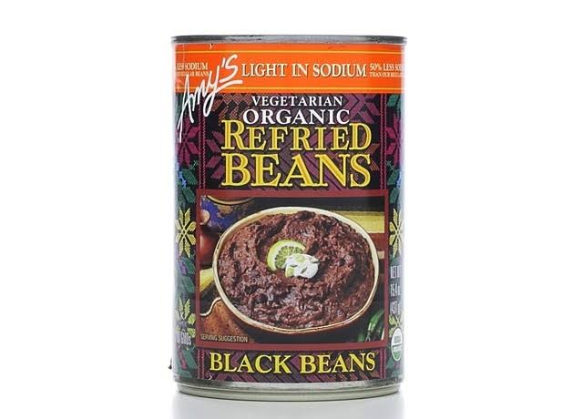 Amy's Light in Sodium Organic Refried Black Beans
