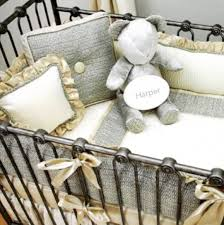 Bratt Decor Crib Used by Joy Canopy Crib Pewter