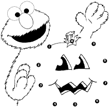 Elmo Pumpkin Stencil by Muppet Character Elmo Coloring Pages And Pictures Print Color Craft