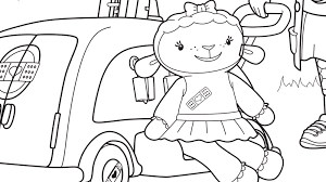 Printable Coloring Pages Doc Mcstuffins