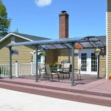 Palram Feria Patio Cover Sidewall by Palram Feria 10ft H X 40ft W X 13ft D Patio Cover Awning
