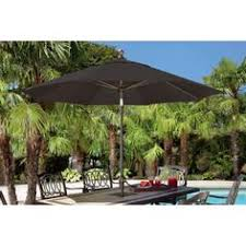 Ace Hardware Offset Patio Umbrella by Living Accents 10ft Round Offset Umbrella With Solar Led Lights