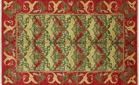 5 X 8 Arts and Crafts William Morris Design Oriental Area Rug