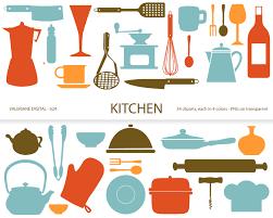 Retro Kitchen Utensil Clipart