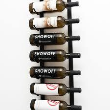 Wall Series Label Forward Metal Wine Racks VintageView Wine