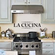 La Cucina Wall Decal Kitchen Decor Art Sticker For The 24x7