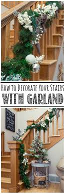 How To Hang A Garland On The Stairs - Clean And Scentsible How To Hang Garland On Staircase Banisters Oh My Creative Banister Christmas Ideas Decorating Decorate 20 Best Staircases Wedding Decoration Floral Interior Do It Yourself Stairways Southern N Sassy The Stairs Uncategorized Stair Christassam Home Design Decorations Billsblessingbagsorg Trees Show Me Holiday Satsuma Designs 25 Stairs Decorations Ideas On Pinterest Your Summer Adams Unique Garland For