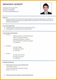 Objectivesapplicant Resume Sample Objectives Samples Format Fashionable Design 9 Example Or Systematic Capture Furthermore Philippines Caption