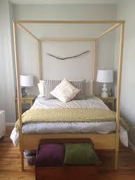 Ikea Edland Bed by Full Size Ikea Hemnes 4 Poster Bed U0026 Slats Bed Slats Hemnes And