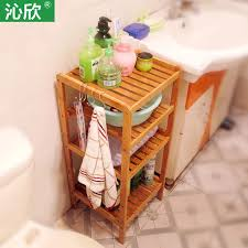 billige bambus bad regal bad ecke multilayer holz clapboard gesicht penjia kleine regal bodengestell