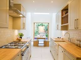 6 ways to make narrow kitchen more effective 4 home ideas